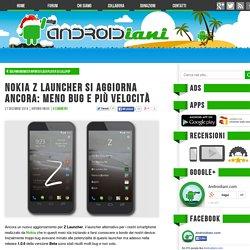Nokia Z Launcher si aggiorna ancora: meno bug e più velocità