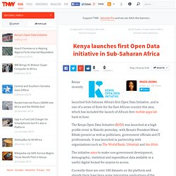 Kenya launches Africa's first Open Data Initiative - TNW Africa