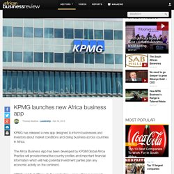 KPMG launches new Africa business app