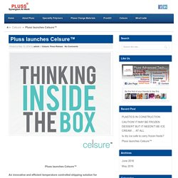 Pluss launches Celsure™ - PlussPluss