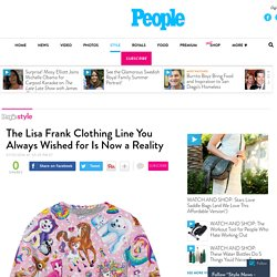 Lisa Frank Launches Clothing Line with Rage On! – Style News - StyleWatch - People.com