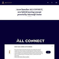 launches ALL CONNECT, new hybrid meeting concept powered by Microsoft Teams