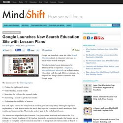 Google Launches New Search Education Site with Lesson Plans