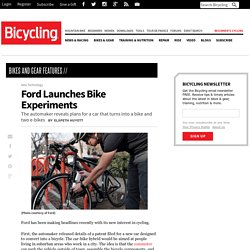 Ford Launches Bike Experiments