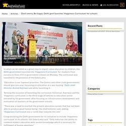 Delhi govt launches 'Happiness Curriculum' for schools