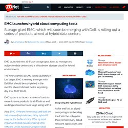 EMC launches hybrid cloud computing tools