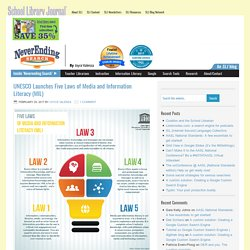 UNESCO Launches Five Laws of Media and Information Literacy (MIL)