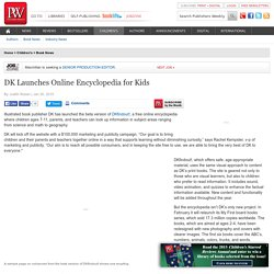 DK Launches Online Encyclopedia for Kids