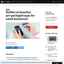 Builder.ai Helping Small Business During Covid-19