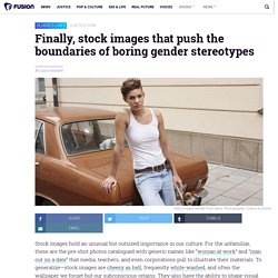 Getty launches gender fluid stock image project Genderblend