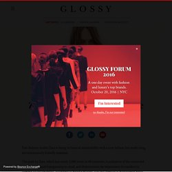 Glossy: Fashion, Luxury, Technology