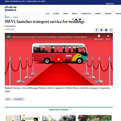 SWVL launches transport service for weddings - Samaa Digital