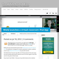 Virtual classroom iPad App