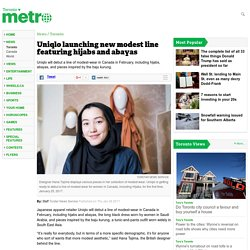 Uniqlo launching new modest line featuring hijabs and abayas