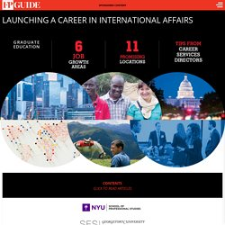 Home – Launching a Career in International Affairs – Foreign Policy Guide