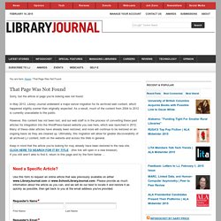 ebrary Launching into Public Library Market with New Collection - 5/24/2010 - Library Journal