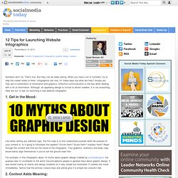 12 Tips for Launching Website Infographics