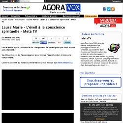 Laura Marie - L'éveil à la conscience spirituelle - Meta TV
