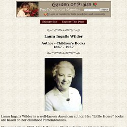 Laura Ingalls Wilder Biography