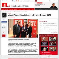 Laura Maucci lauréate de la Bourse Dumas 2012