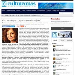 """Rita Laura Segato: """"La guerra contra las mujeres"""""""