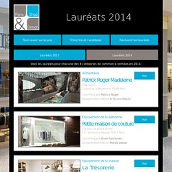Laureats 2014 - Paris Shop & Design