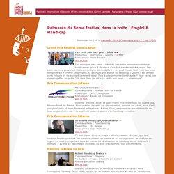 Lauréats 2014 - Festival dans la boite - Emploi & Handicap