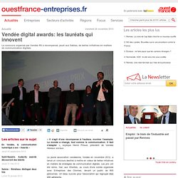 Vendée digital awards: les lauréats qui innovent
