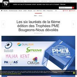 Les six lauréats de la 6ème édition des Trophées PME Bougeons-Nous dévoilés
