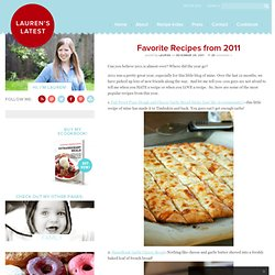 Favorite Recipes from 2011