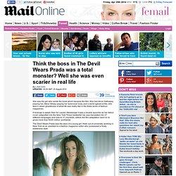 Lauren Weisberger: The Devil Wears Prada boss was even scarier in real life