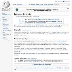 Lawrence DERMOTT 1720-1791