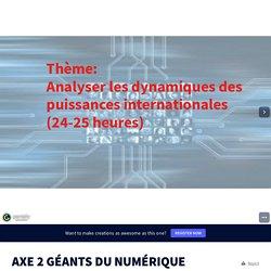 AXE 2 GÉANTS DU NUMÉRIQUE by Laurence GANIÈRE on Genially