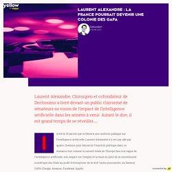 Laurent Alexandre : la France pourrait devenir une colonie des GAFA - Yellow Vision