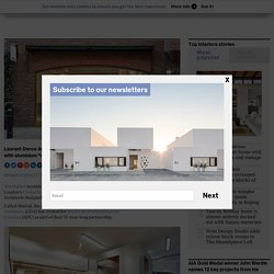 "Laurent Deroo Architecte furnishes APC store with ""cabin modules"""