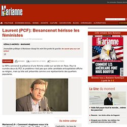 Réaction de P.Laurent (PCF)