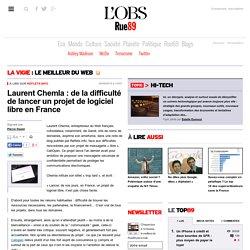 Laurent Chemla: de la difficulté de lancer un projet de logiciel libre en France