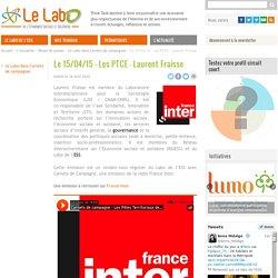 Le 15/04/15 - Les PTCE - Laurent Fraisse