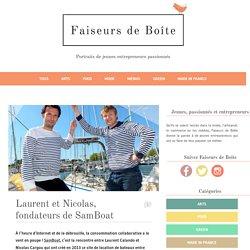 Laurent et Nicolas, fondateurs de SamBoat
