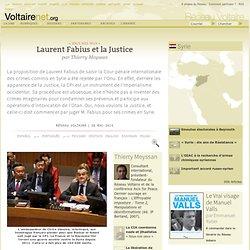 Laurent Fabius se ridiculise à l'ONU