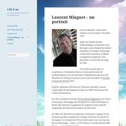 Laurent Minguet – un portrait