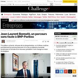 Jean-Laurent Bonnafé, un parcours sans faute à BNP-Paribas
