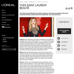 Yves Saint Laurent Beauty: perfume, makeup, skincare-L'Oréal Group