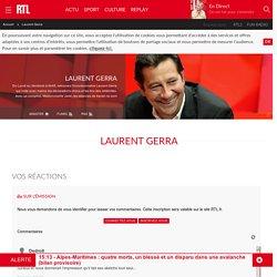 Laurent Gerra : replays, vidéos et podcasts avec Laurent Gerra sur RTL