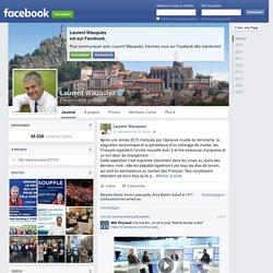 Laurent Wauquiez sur Facebook