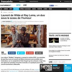 Laurent de Wilde et Ray Lema, un duo sous le sceau de l'humour