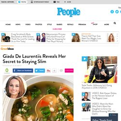 Giada De Laurentiis Reveals Her Secret to Staying Slim