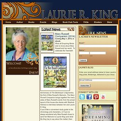 Laurie R. King: Mystery Writer