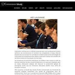 HEC Lausanne: les défis de demain