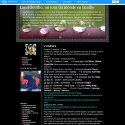 Laustéloutho, un tour du monde en famille - Blog de voyage - Uniterre.com